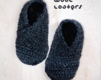 Crochet Pattern Baby Loafers Wool Loafers Crochet Baby Booties Newborn Booties Patterns Infants Loafers Preemie Shoes Crochet Patterns Shoes