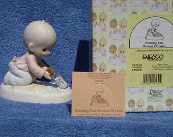 Precious Moments Figurine - Sending You Oceans Of Love - #532010 - Retired