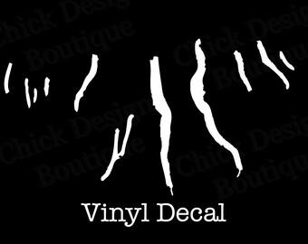 Finger Lakes Silhouette Vinyl Decal