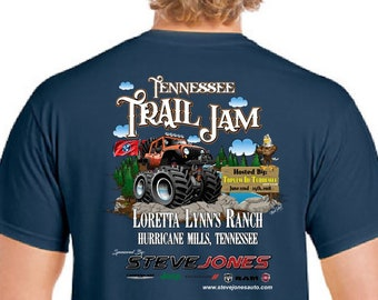 Tennessee Trail Jam 2018 Event T shirt