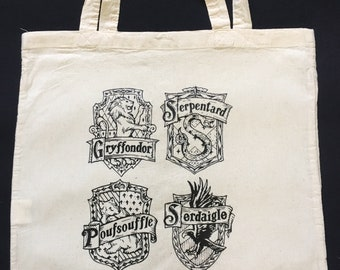 Tote Bag inspired Harry Potter