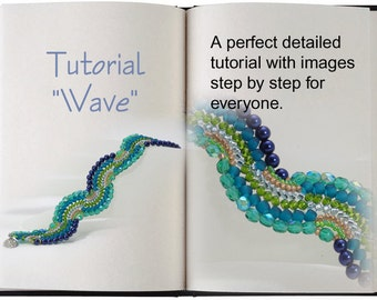 Jewelry Tutorial.... Wave... Bracelet Tutorial