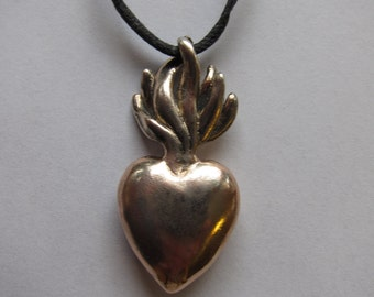Sprouting Seed of Love Pendant