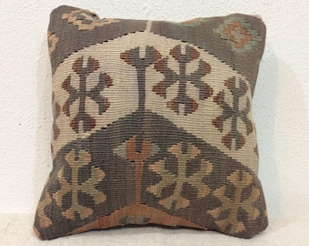 Pastel pillow cover,12x12 inches pillow,Interior cushion,30x30 cm pillow,kilim pillows,boho home decor,rustic Aztec decor,Authentic pillows