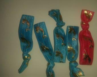 Unicorn/Mermaid Hair Ties that Double as Bracelets