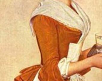 18th Century, Caraco a la Pierrot Jacket - Custom, Made To Order