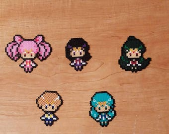 Outer Sailor Scouts Keychains