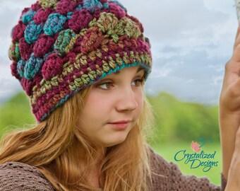 PDF Crochet PATTERN Samantha Beanie