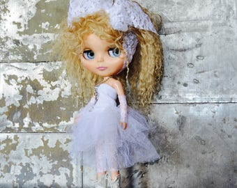 Blythe Like a Virgin - Madonna 1980 ' s Costume pour Neo Takara Kenner et Custom Dolls