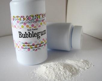 Silky Dusting Body Powder - Dry Shampoo - Bubblegum - Talc Free - Bath and Body - Deodorizing Powder