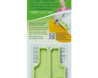 Clover 6-In-1 Stick'n Stitch Guide By Nancy Zieman  #9584