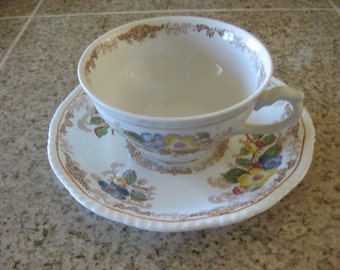 Ridsways - Apple Blossom Tea cup and saucer