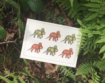 Dino Dino Greetings Card