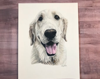 Custom Pet Portrait, Custom Dog Portrait, Custom Pet Drawing, Custom Dog Drawing, Pet Loss Gifts, Pet Sympathy Gifts