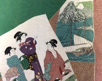 Majestic Silk Japanese Scarf