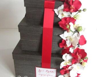 Wedding Card Money Box, Card Holder, Envelope Card Box  - Custom Made
