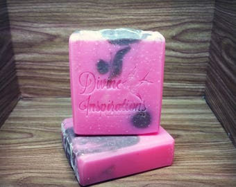 Pretty In Pink Cocoa Butter & Cream Artisan Soap