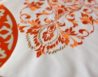 Machine Embroidery Design - Royal ornament | MEGA HOOP