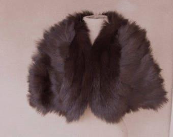 Vintage 60s' - I Magnin Fur Cape