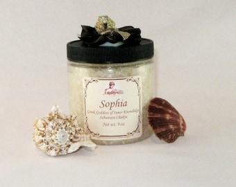 Crown Chakra Bath Salt for Inner Knowledge.   8 oz