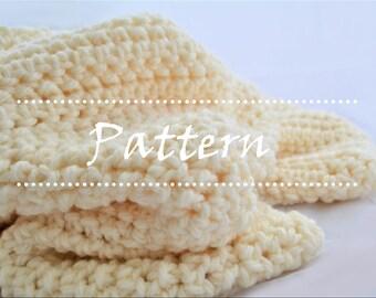 Jamie Blanket Crochet Baby Blanket Pattern / Baby Afghan Pattern / Toddler Blanket / Baby Shower Gift