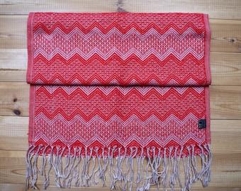 Genuine Peruvian Scarf - Alpaca Wool - 162x56cm - MADE in PERU - Super soft and warm.
