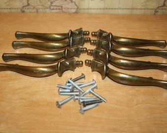 Drawer Pulls - Salvaged Metal - set of 8 - item #1478