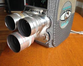 Keystone K-4 Electric eye - Vintage 8mm motion picture camera