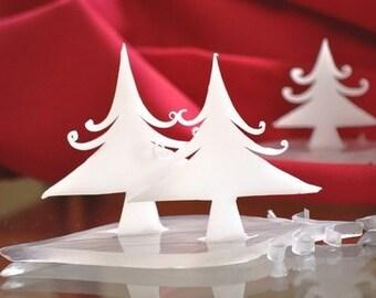 Winter Wonderland Wedding Favor ~ Tree Soap ~ Winter Wedding Ideas ~ Bridal Shower Favor ~ Decorative Soap - Holiday Soap - Christmas Soap