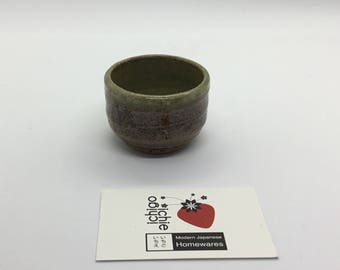 Brown Sake Cup