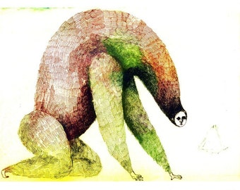 Magical Monster Archival print