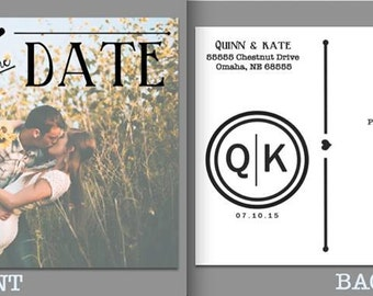DIGITAL DOWNLOAD Save the Date