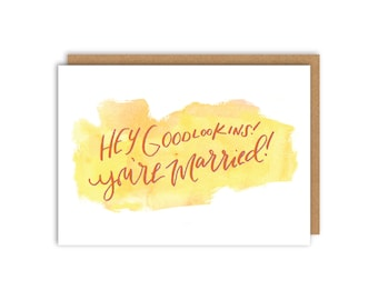 You're Married! Greeting Card