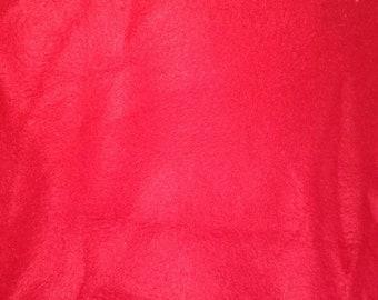 Red Fleece Fabric