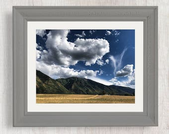 Rolling Clouds - Nature Photography from Utah