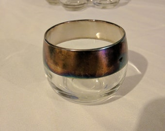 Dorothy Thorpe Set of (6) Roly Poly 4 oz Glasses