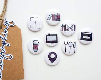 Currently Icons - Mini Flair Set