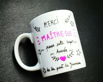 Personalized mug for a master and mistress gift