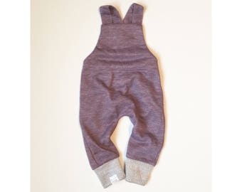 Heather Plum Romper