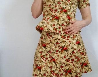 Vintage 1950s Skirt Suit