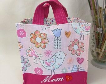 Medium Nest Basket with Organizer Pockets - Mom
