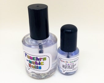 Quick Dry Top Coat Nail Polish - for a speedy manicure