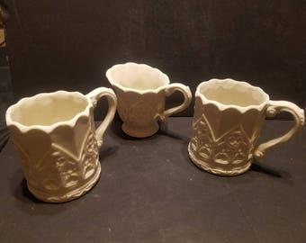 Decorative Coffee Cup Set Of 3