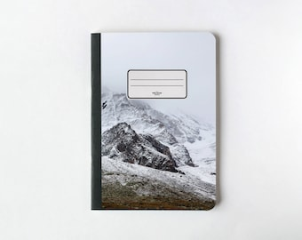 Birds on the Mountain Notebook - Journal - Sketchbook - Blank pages - Lined pages