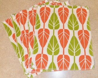 UnPaper Towels- Cleaning Cloths- Eco friendly- Set of 8- Falling Leaves- 32005