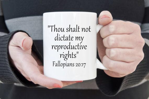 Pro choice coffee mug