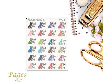 Road Trip Planner Stickers/ Injection Stickers/ Erin Condren/ Plum Paper/ Happy Planner/ Recollections/ Functional Stickers #069