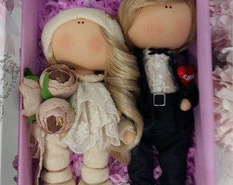 Dolls for the wedding