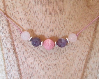 Harmony Gemstone Necklace