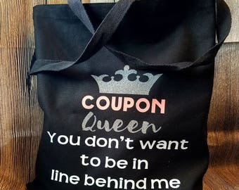 Extreme Couponer, extreme couponing, coupon organizer, coupon queen, coupon queen bag, best friend gift